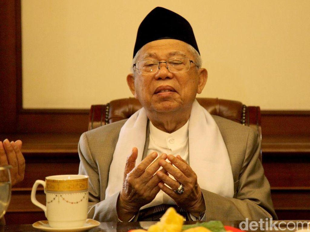 Maruf Amin: Tahun 2024, Tak Ada Lagi Masalah Kebangsaan di Indonesia