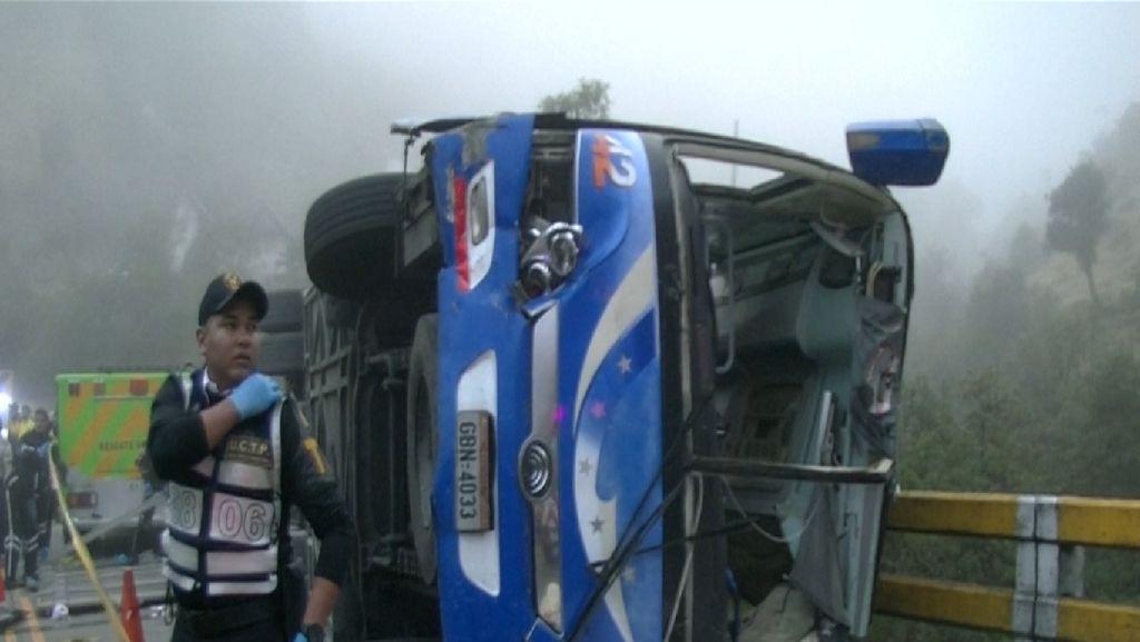 Bus Fans Barcelona Kecelakaan, 12 Tewas
