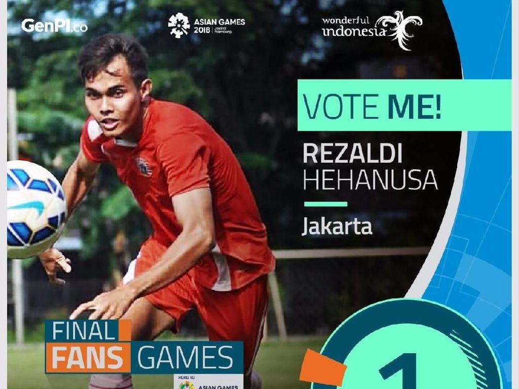 Ayo! Masih Ada Waktu Pilih Atlet Favorit di Voting #PesonaAsianGames