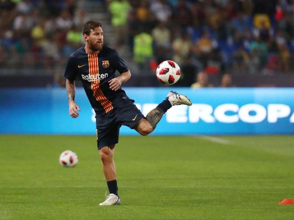 Messi Tak Jadi Finalis Pemain Terbaik FIFA, Enrique: Dia Tetap yang Terbaik
