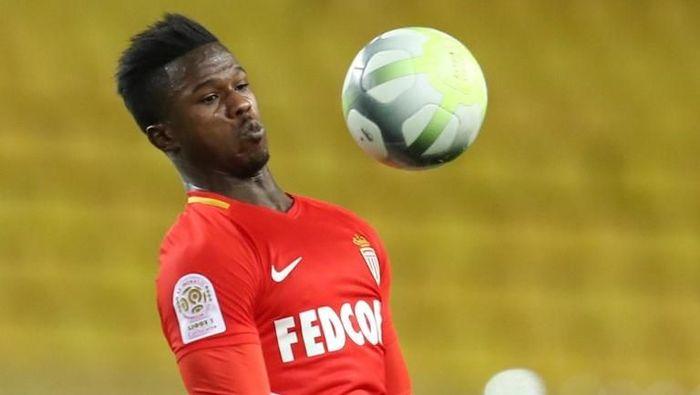 Inter Milan meminjam Keita Balde dari AS Monaco (Foto: Valery Hache/AFP)