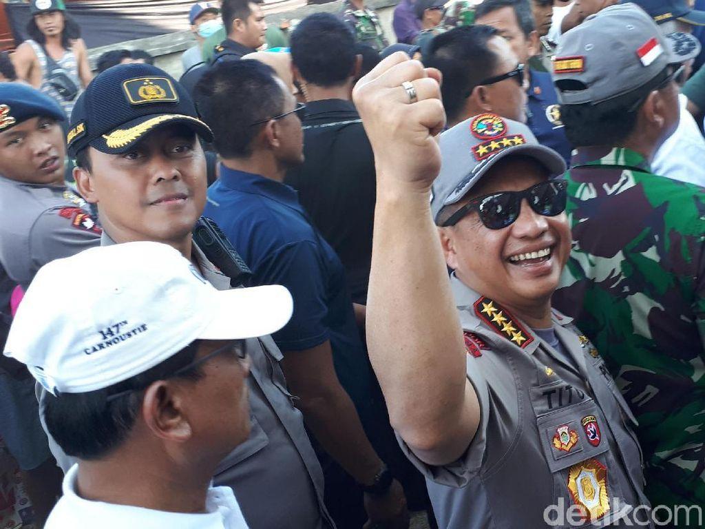 562 Personel Brimob ke Lombok untuk Bantu Bangun Rumah Warga