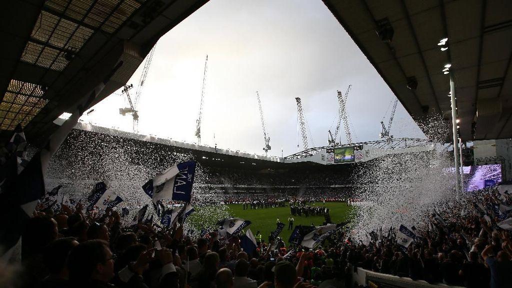 Tottenham Tunda Kepindahan ke Stadion Baru