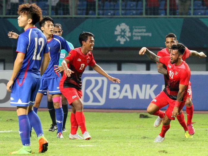Pemain Persib Bandung, Febri Haryadi di Asian Games 2018. (Foto: Ary Kristianto/sup/INASGOC via Antara)