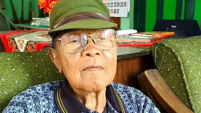 Menapak Usia 91 Tahun, Ini Heroiknya Sukiyarno Perang Lawan Jepang