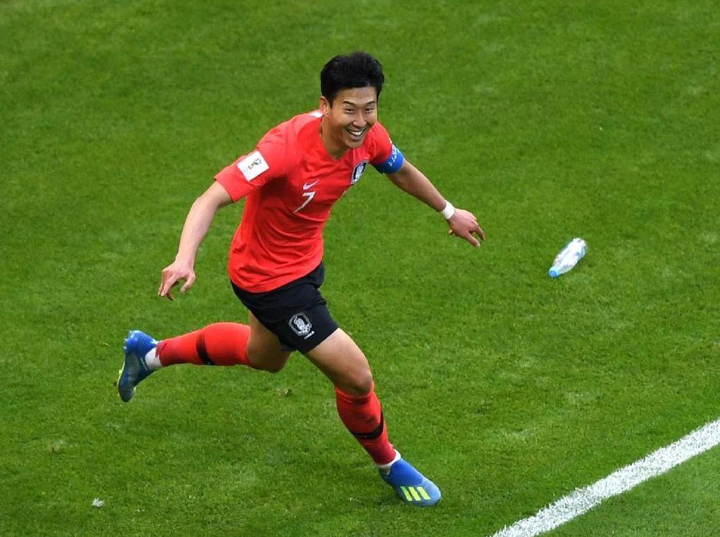 Son Heung-min Bikin Dua Gol di Piala Dunia 2018, Berapa di Asian Games?