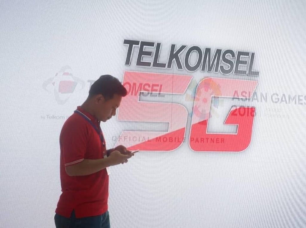 Telkomsel Boyong 5G Experience Center ke Asian Games