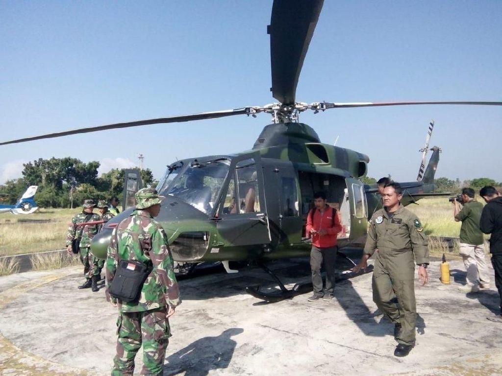 Warga di Rinjani Terisolasi, TNI akan Kirim Logistik Lewat Udara