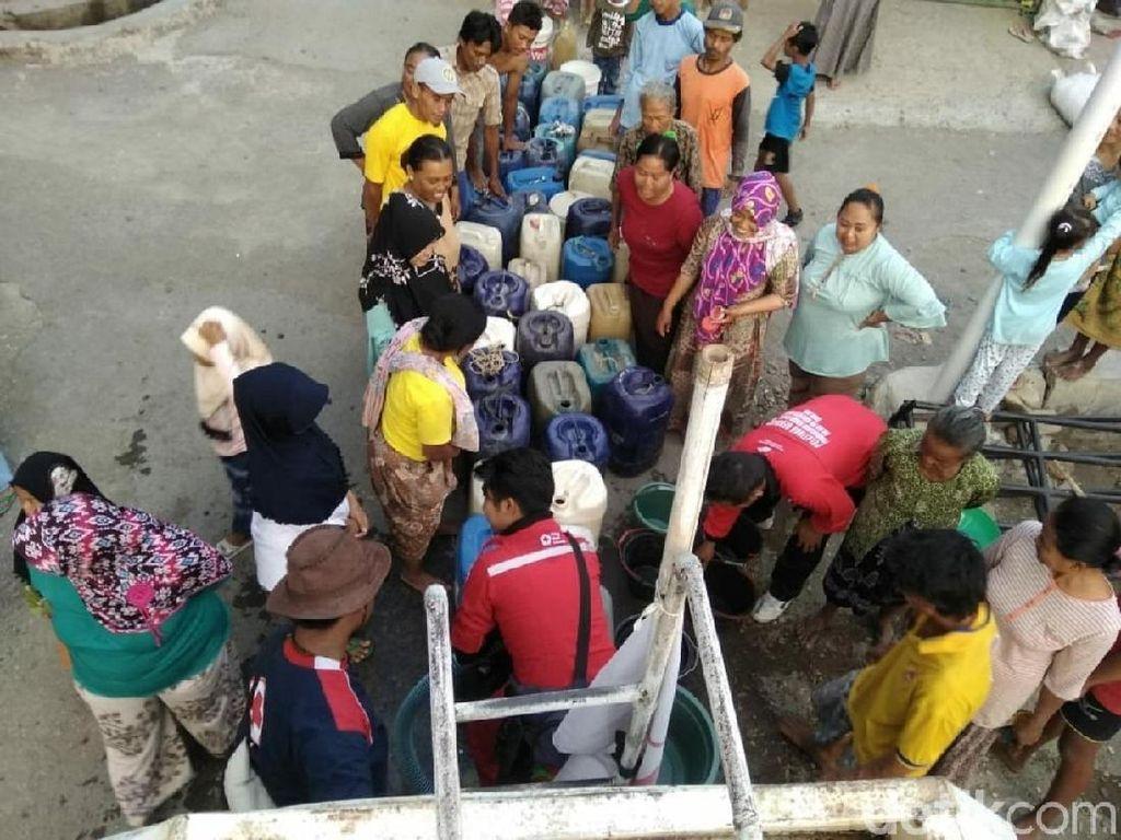 Musim Kemarau, 9 Kecamatan di Brebes Krisis Air Bersih