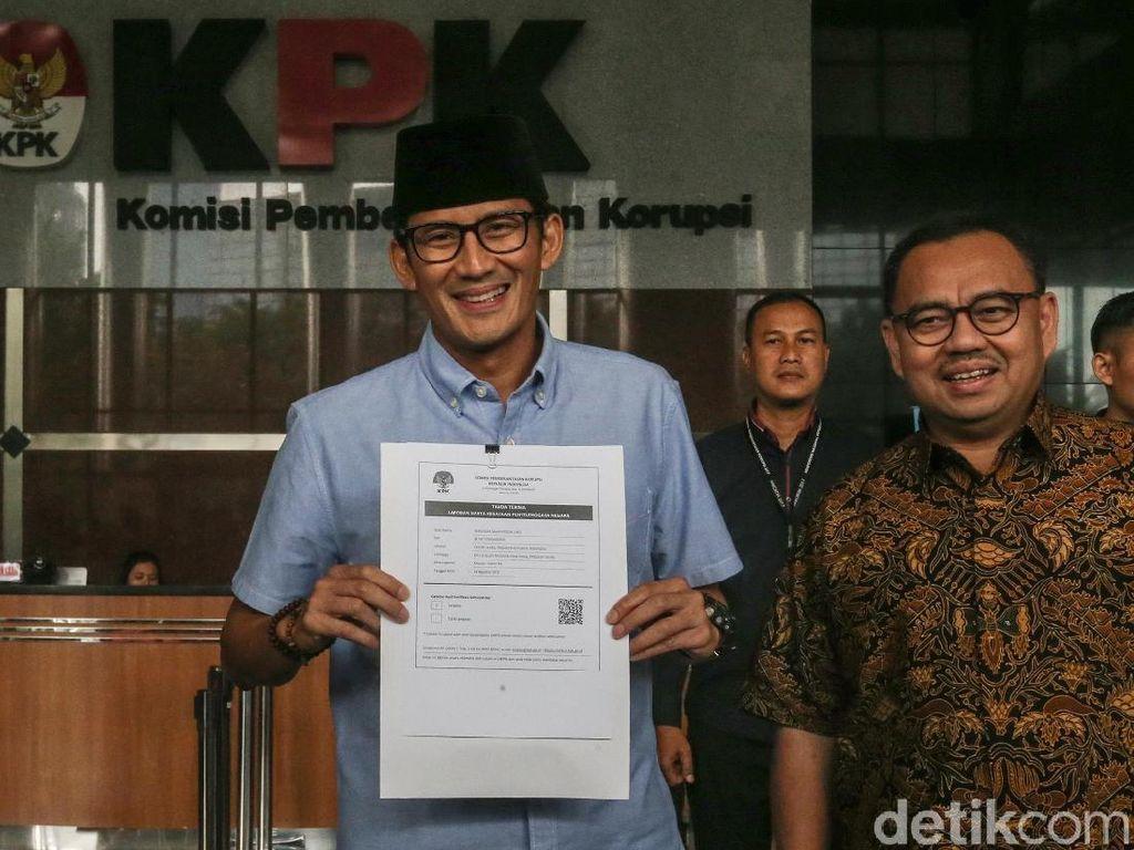Lapor LHKPN, Sandi Sampaikan Bantahan Tudingan Mahar Rp 500 M ke KPK
