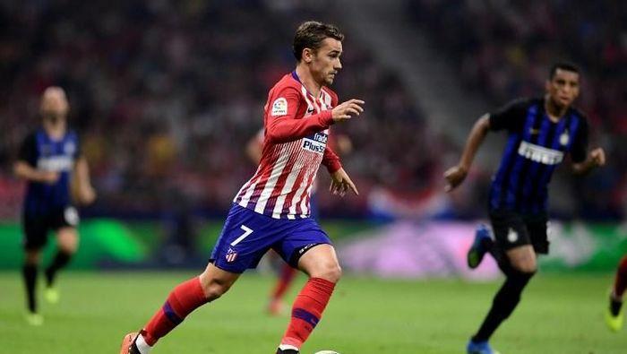 Setelah jadi juara Piala Dunia, Antoine Griezmann berharap bisa memenangi Liga Champions (JAVIER SORIANO/AFP)