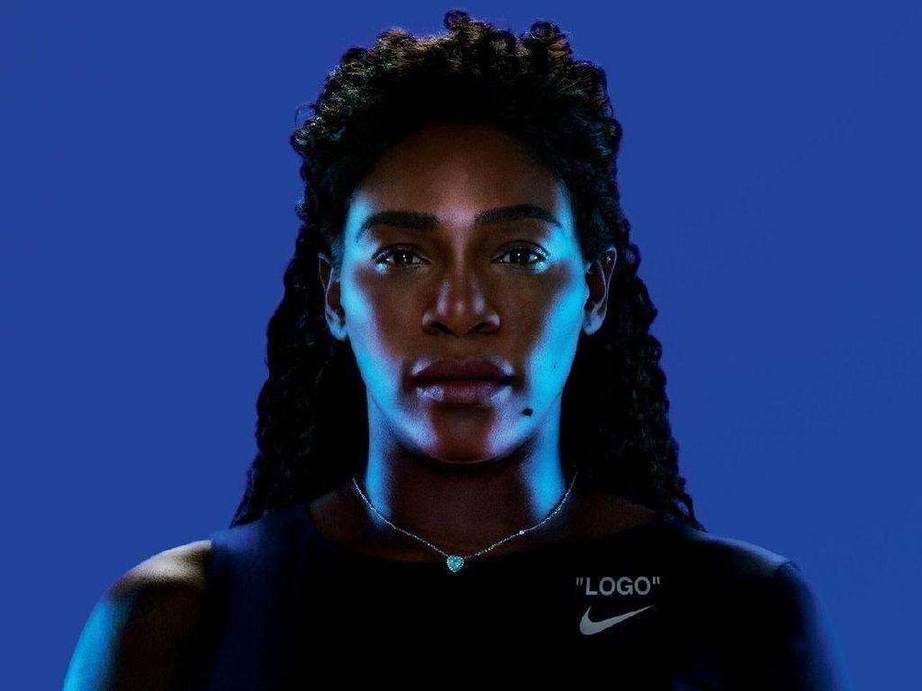 Fancy! Kostum Tenis Serena Williams Didesain Virgil Abloh Off-White