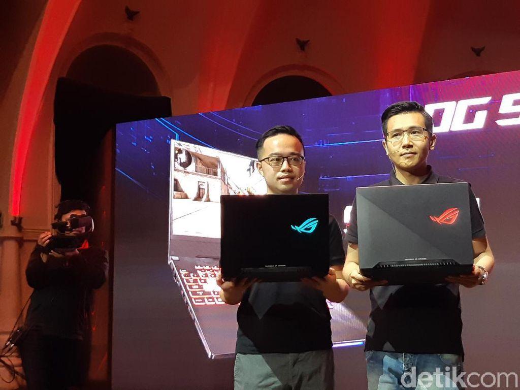 Laptop Asus ROG Anyar Dijual Mulai Rp 24 Juta