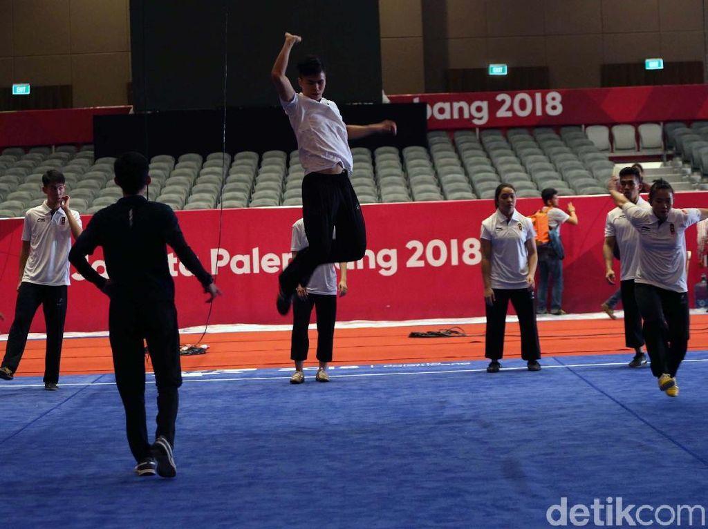 Wushu Kebut Siapkan Venue Asian Games 2018, Tribune Kurang Sip