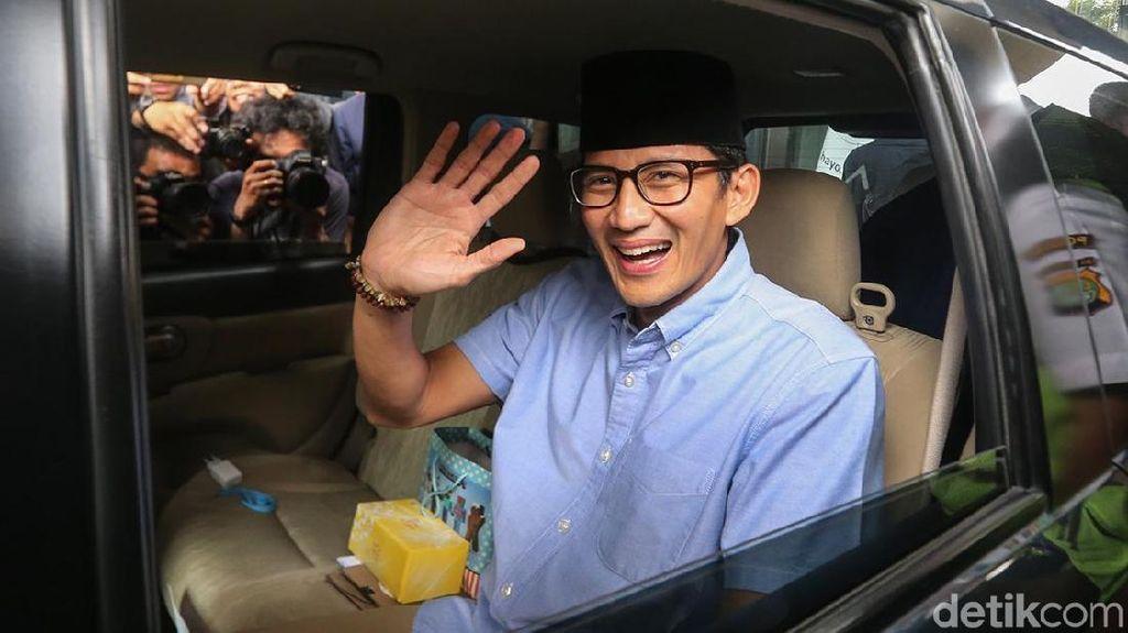 Jika Menang Pilpres, Sandiaga Siap Teruskan Kebijakan Jokowi