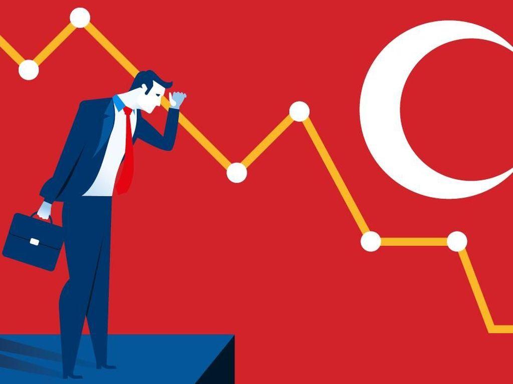 Turki Inflasi 25%, Tertinggi Sejak 15 Tahun