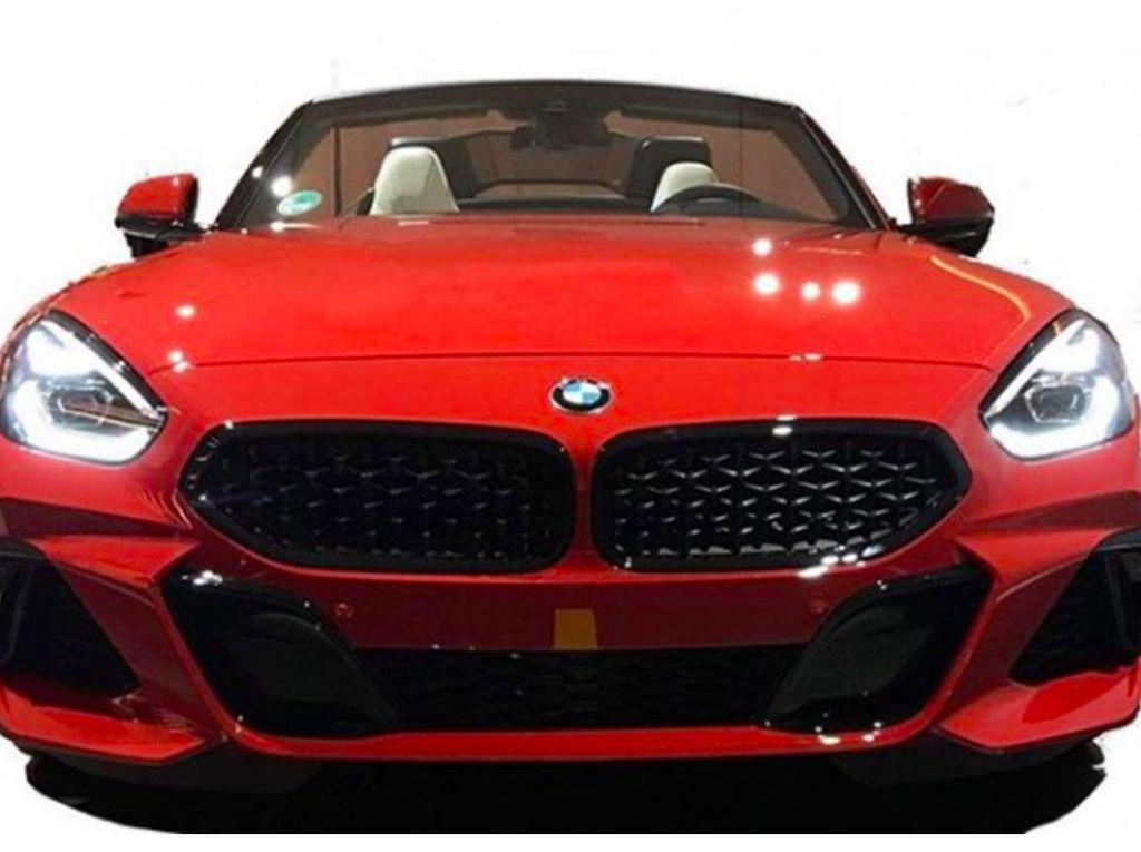 Muka BMW Z4 Terbaru Ramai di Media Sosial