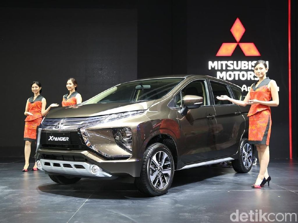 Mitsubishi Lepas 4.509 Mobil di GIIAS, Turun Tapi Sesuai Target
