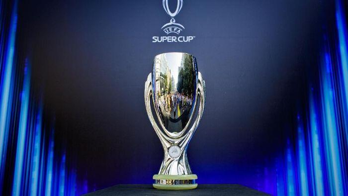Piala Super Eropa 2019 mempertemukan Liverpool sebagai juara Liga Champions menghadapi Chelsea jawara Liga Europa. (Foto: Matej Divizna/Getty Images for UEFA)