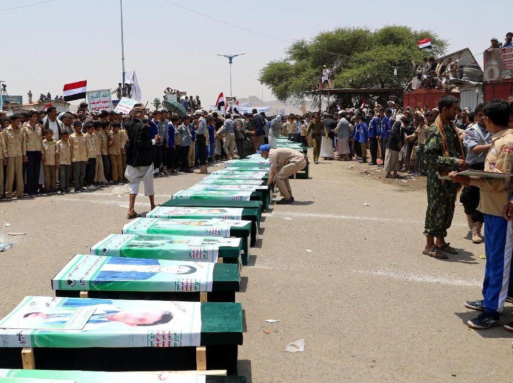Bom yang Tewaskan 40 Anak di Yaman Ternyata Disuplai AS