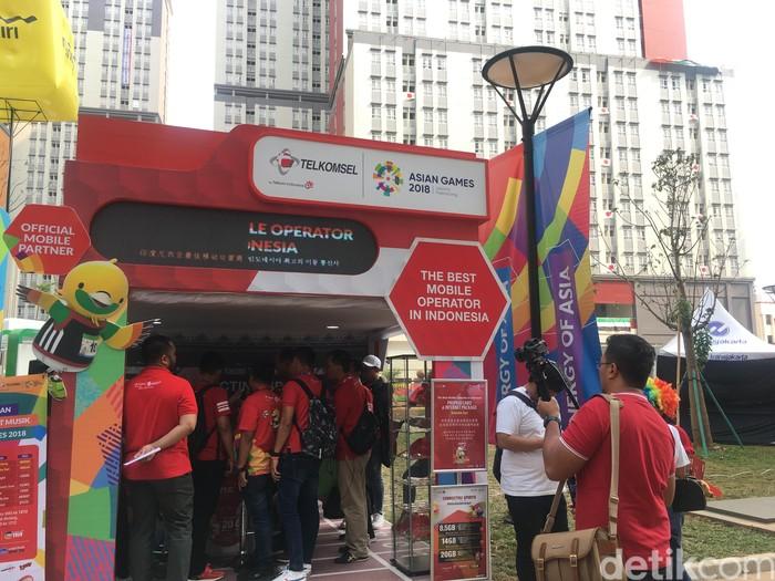 1.454 Bts Dikerahkan Telkomsel Demi Asian Games