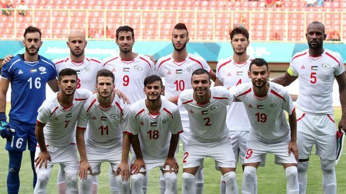 Timnas Palestina yang tampil di Asian Games 2018  (INASGOC/Sup)