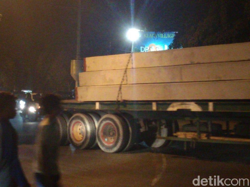 980 Tiang Dipancang di Proyek Rumah DP Rp 0 Pondok Kelapa