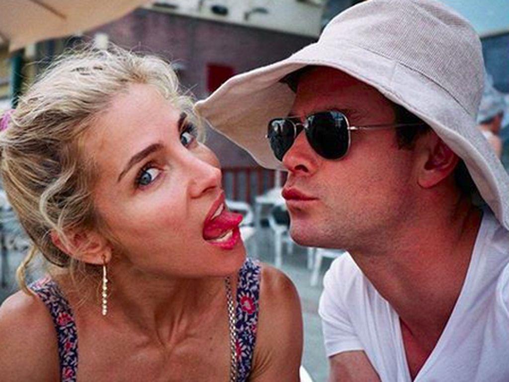 Jawaban Menohok Istri Chris Hemsworth soal Miley Cyrus
