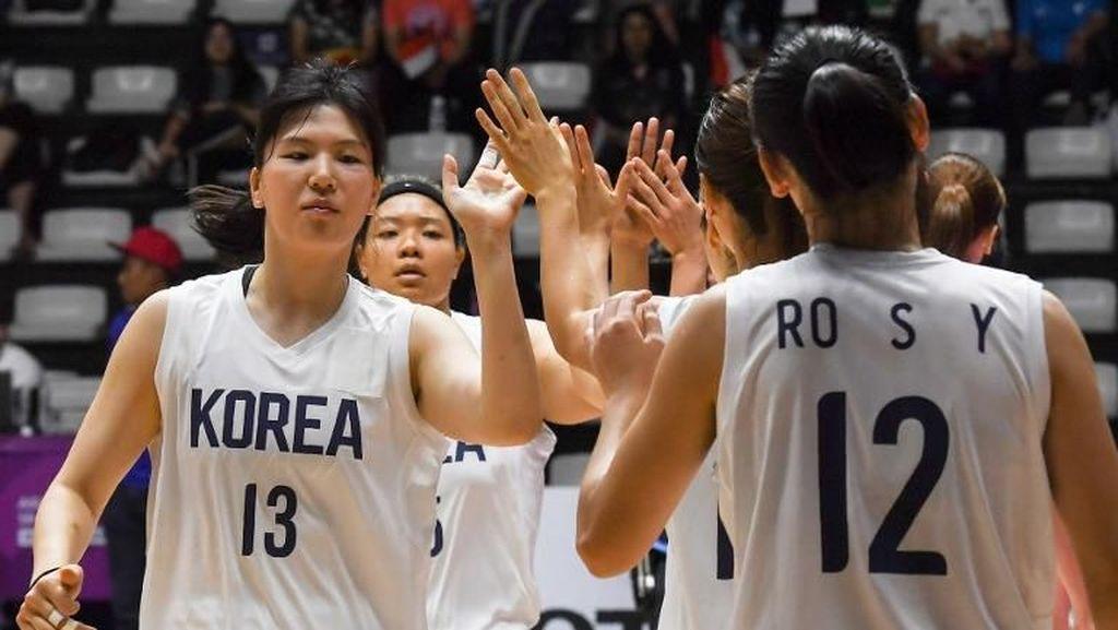 Dua Korea Bersatu di Basket Putri, Pelatih: Kami Masih Satu Keluarga