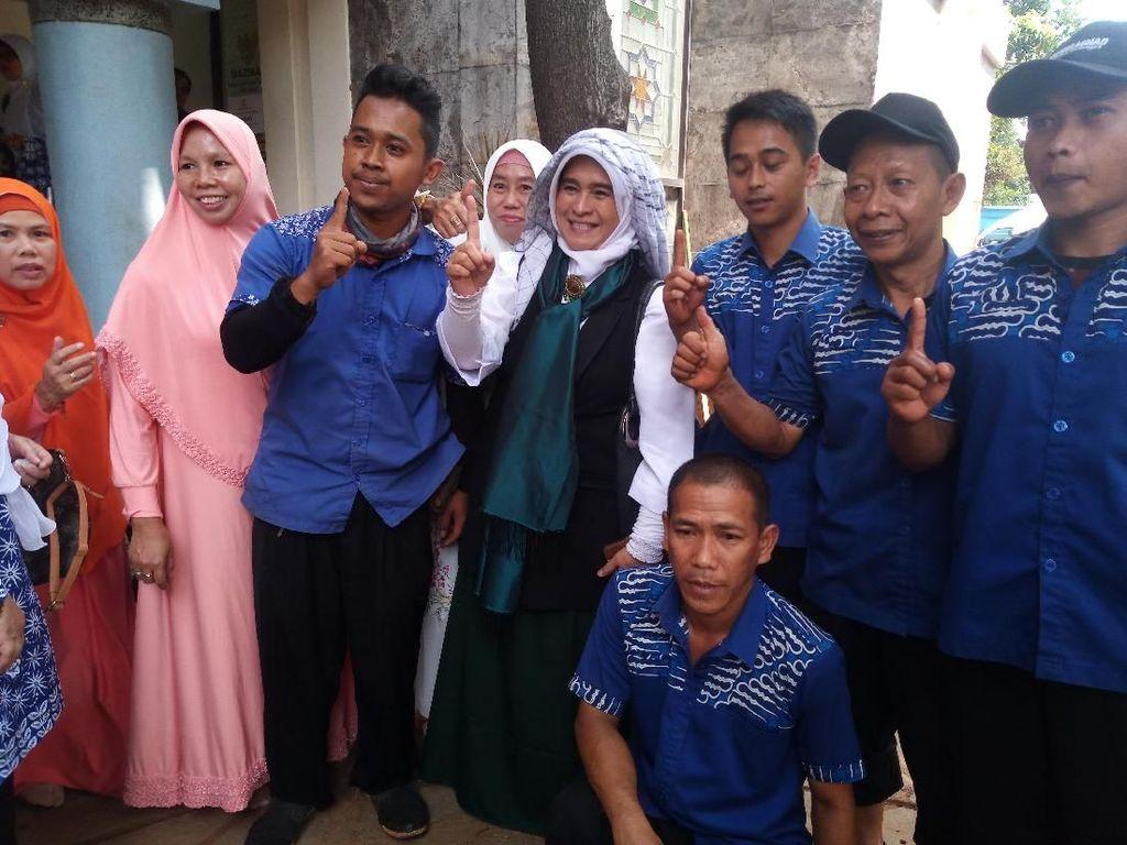 Dipolisikan Relawan Emak Militan Jokowi, Ini Kata Neno Warisman