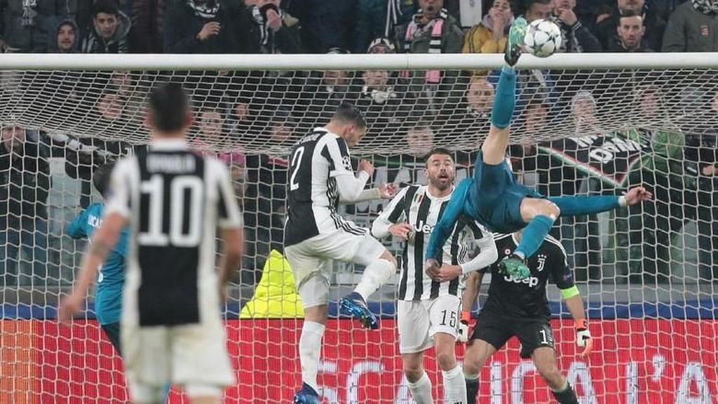 Video: Gol Salto Ronaldo Jadi yang Terbaik di Eropa
