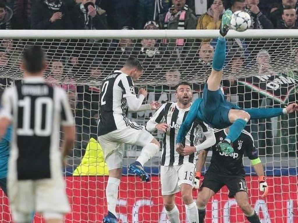 Ada Gol Salto Ronaldo, Ini 11 Kandidat Gol Terbaik UEFA