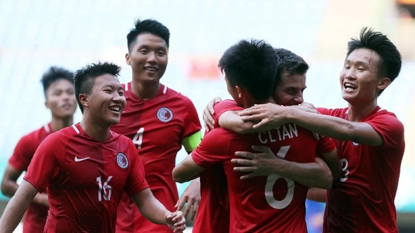 Hasil Sepakbola Asian Games 2018: Hong Kong dan Malaysia Menang