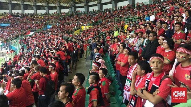 LIVE: Timnas Indonesia U-23 vs Palestina di Asian Games 2018