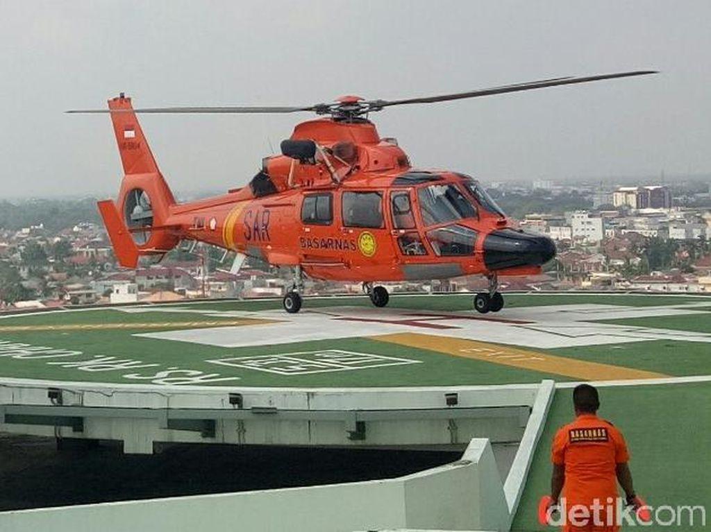 Basarnas Siagakan Heli Untuk Penanganan Darurat di Asian Games Palembang