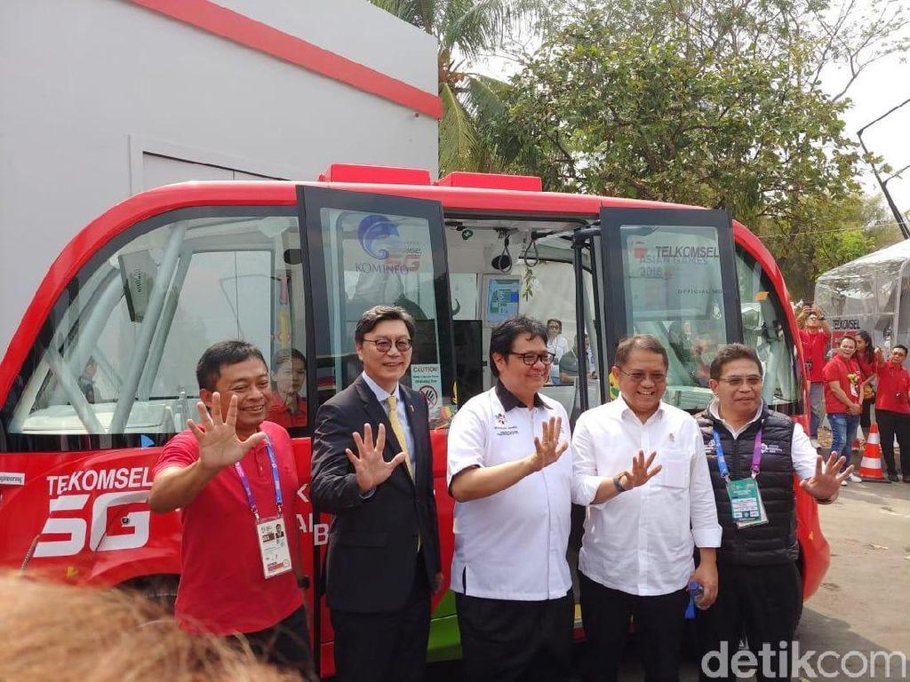 Menkominfo Tak Menyangka Indonesia Uji Coba 5G