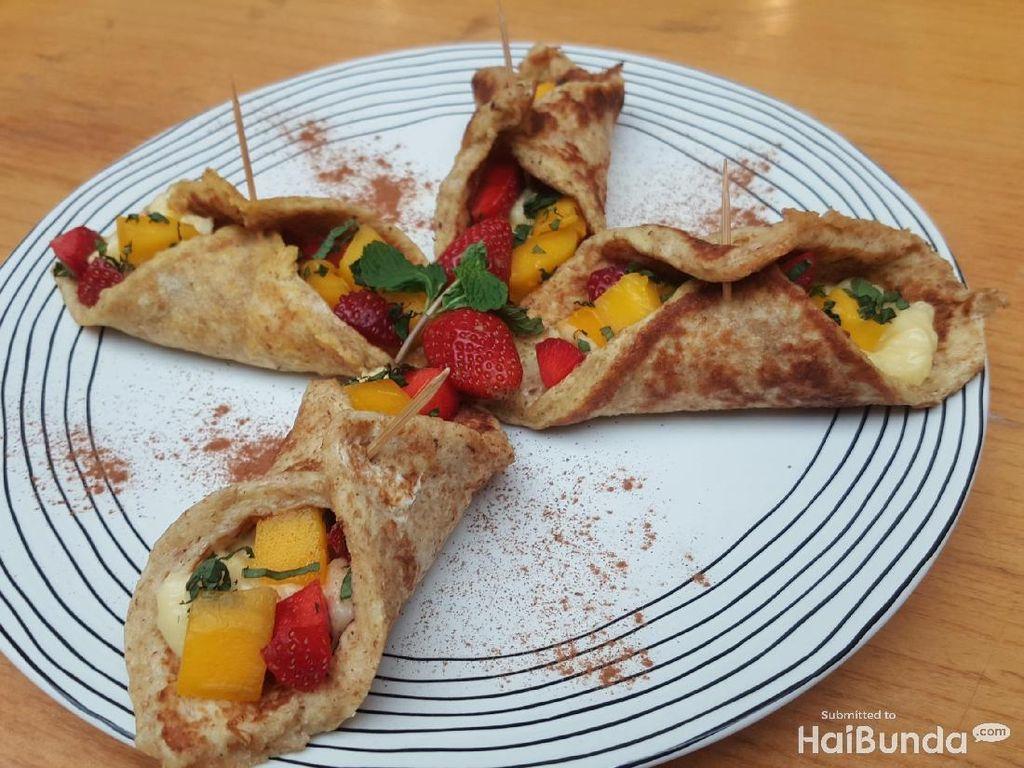 Resep Sarapan Sehat untuk si Kecil: Roti Gulung Buah