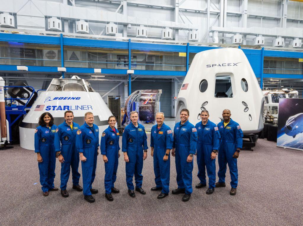 Tahun Depan SpaceX Luncurkan Astronot NASA ke Stasiun Luar Angkasa