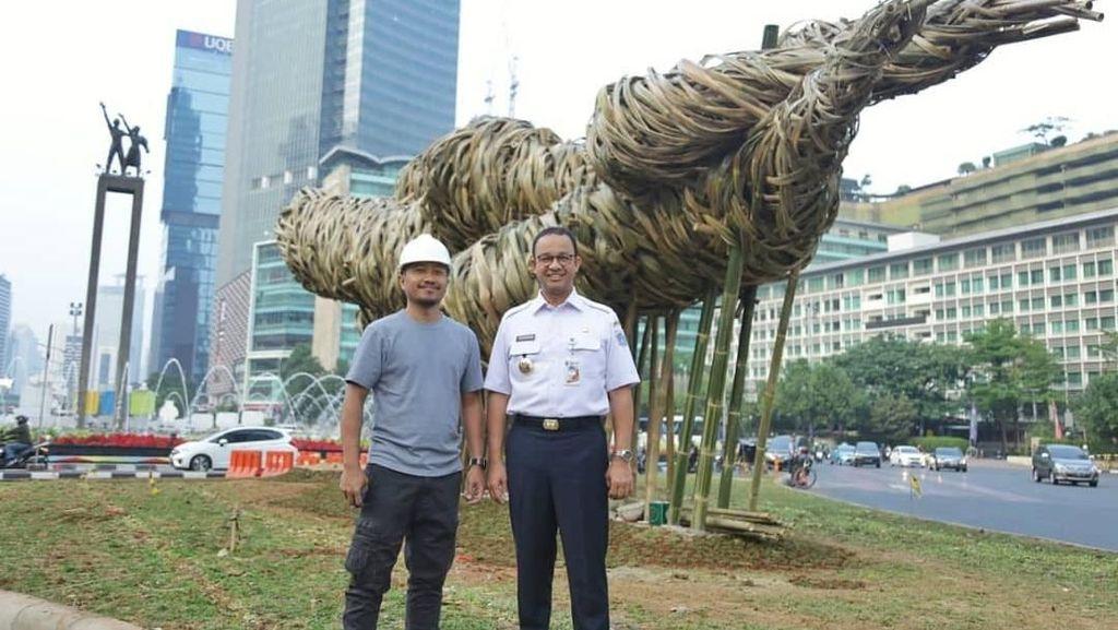 Anies dan Instalasi Bambu Joko Avianto untuk Asian Games 2018
