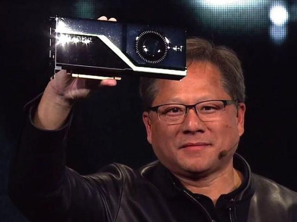 Bos Nvidia Ejek Performa GPU Anyar AMD