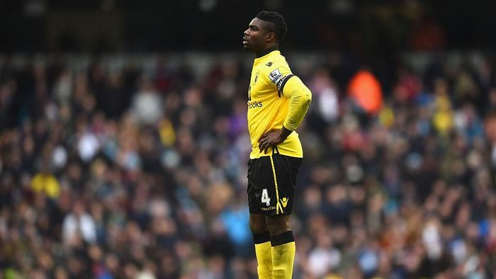 Micah Richards, yang pernah main di Manchester City, akan diputus kontraknya oleh Aston Villa usai makan gaji buta nyaris 2 tahun (Foto: Laurence Griffiths/Getty Images)
