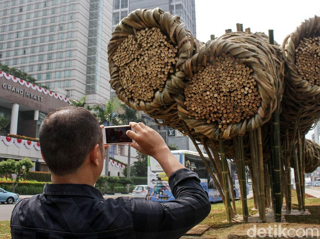 Bambu Getah Getih Rp 550 Juta Dibongkar, PDIP: Mubazir