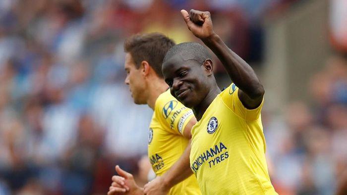 Perubahan posisi NGolo Kante di Chelsea akan menguntungkan timnas Prancis. (Foto: Carl Recine/Action Images via Reuters)