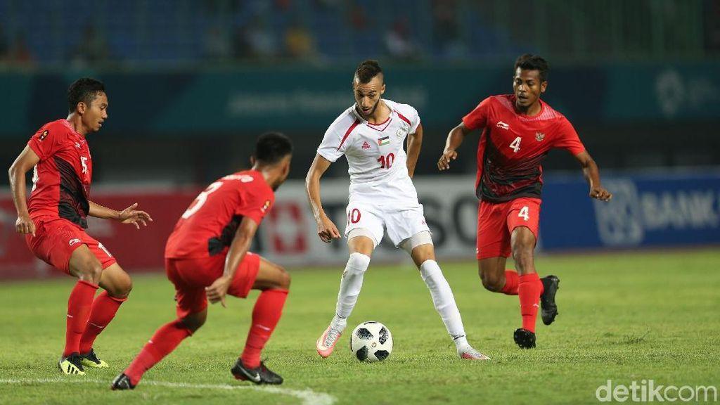 Palestina: Terima Kasih Atas Dukungan Suporter Indonesia