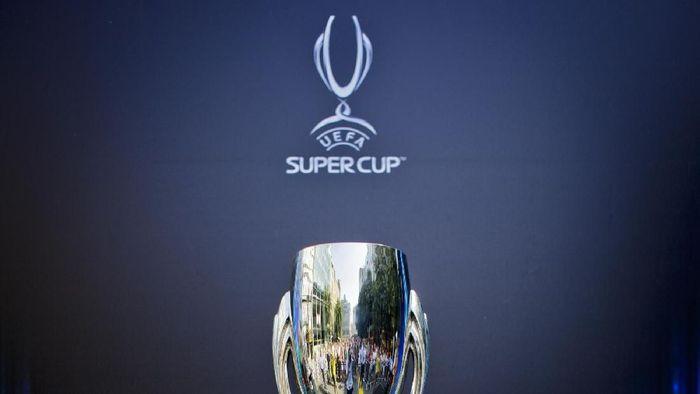 Piala Super Eropa 2018 mempertemukan Real Madrid vs Atletico Madrid. (Foto: Matej Divizna/Getty Images for UEFA)