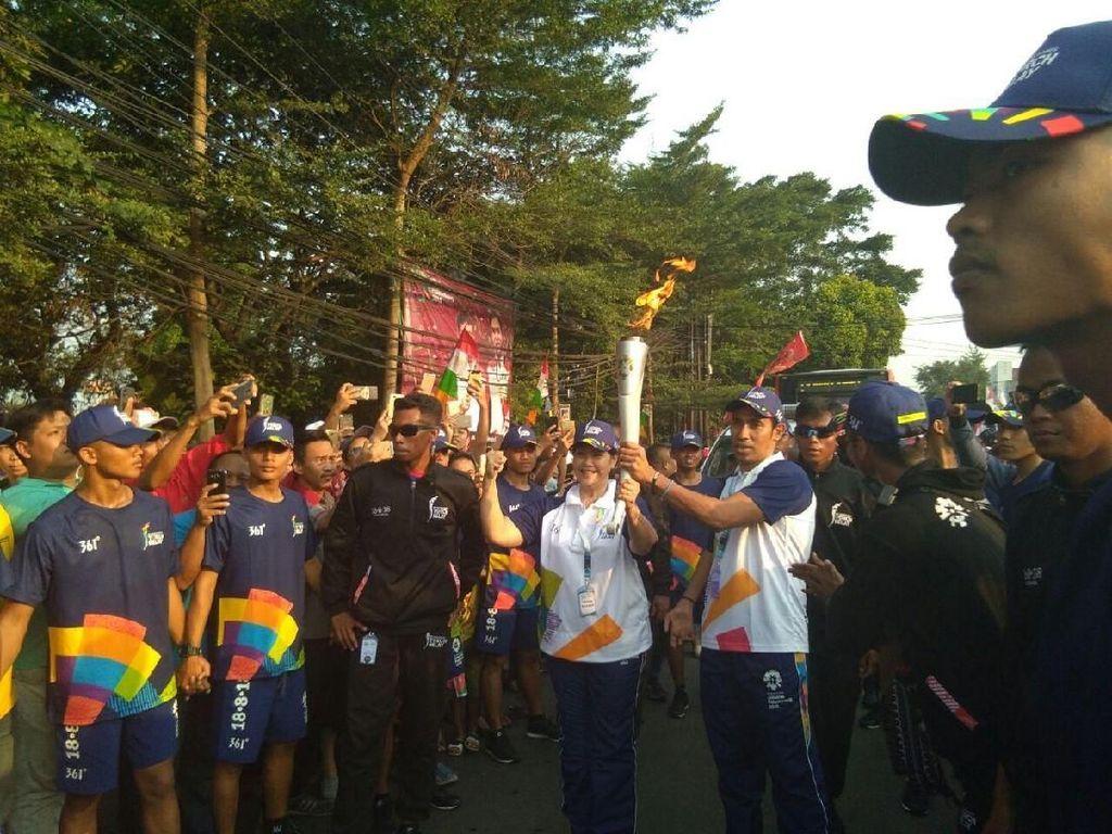 Saksikan Pawai Obor di Jalan Ampera, Warga: Udah Gini Aja?