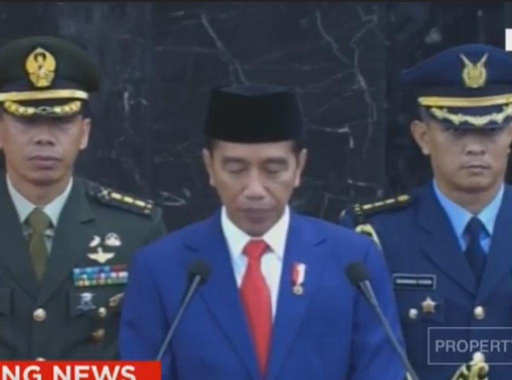 Jokowi Beberkan Pencapaian MA-MK-KY di Sidang Tahunan MPR