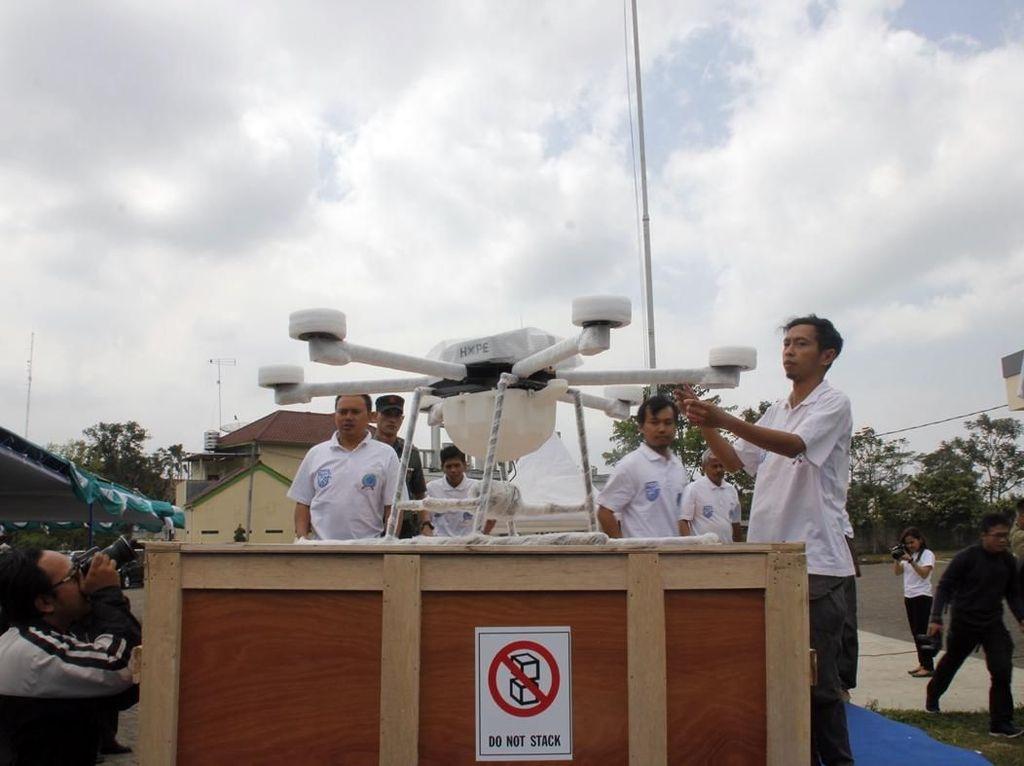 Drone Made in Temanggung Diminati Kementan