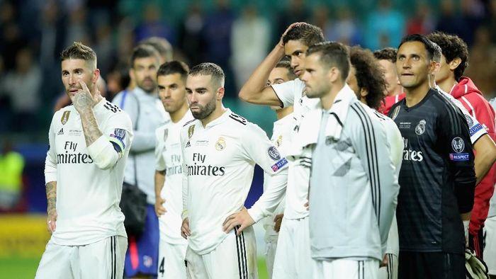 Sergio Ramos yakin Real Madrid tetap kompetitif tanpa Cristiano Ronaldo (Foto: Alexander Hassenstein/Getty Images)