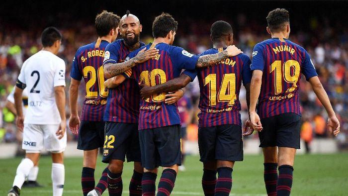 Barcelona tak memprioritaskan Liga Champions musim ini (David Ramos/Getty Images)